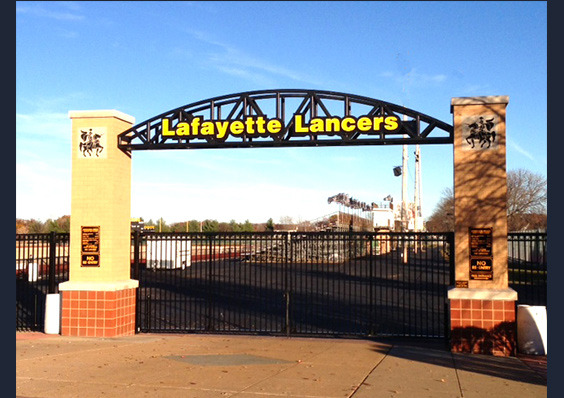 Lafayette High School Monument Entry Arch